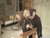 Blonde Is Restrained And Flogged Hard By Dom