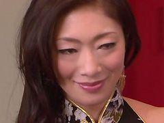 Грубый секс с горячие Азиатские ифом